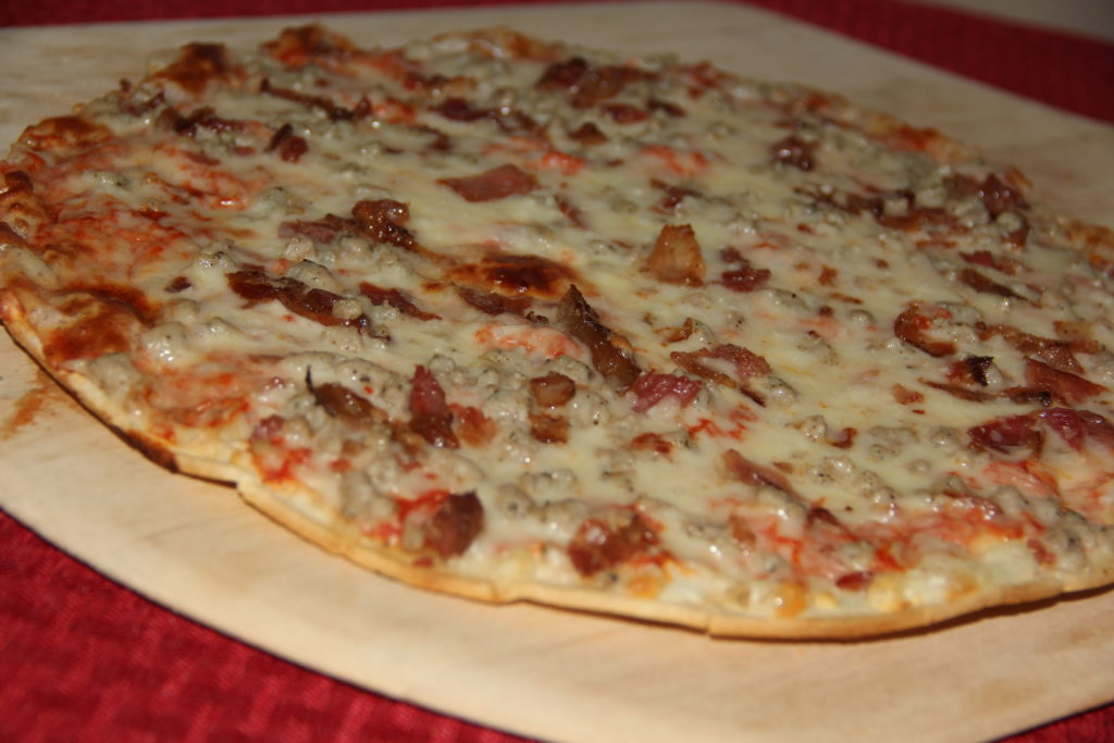 Andoro & Sons Pizza Fundraiser- St. Louis Style Bacon & Sausage Pizza