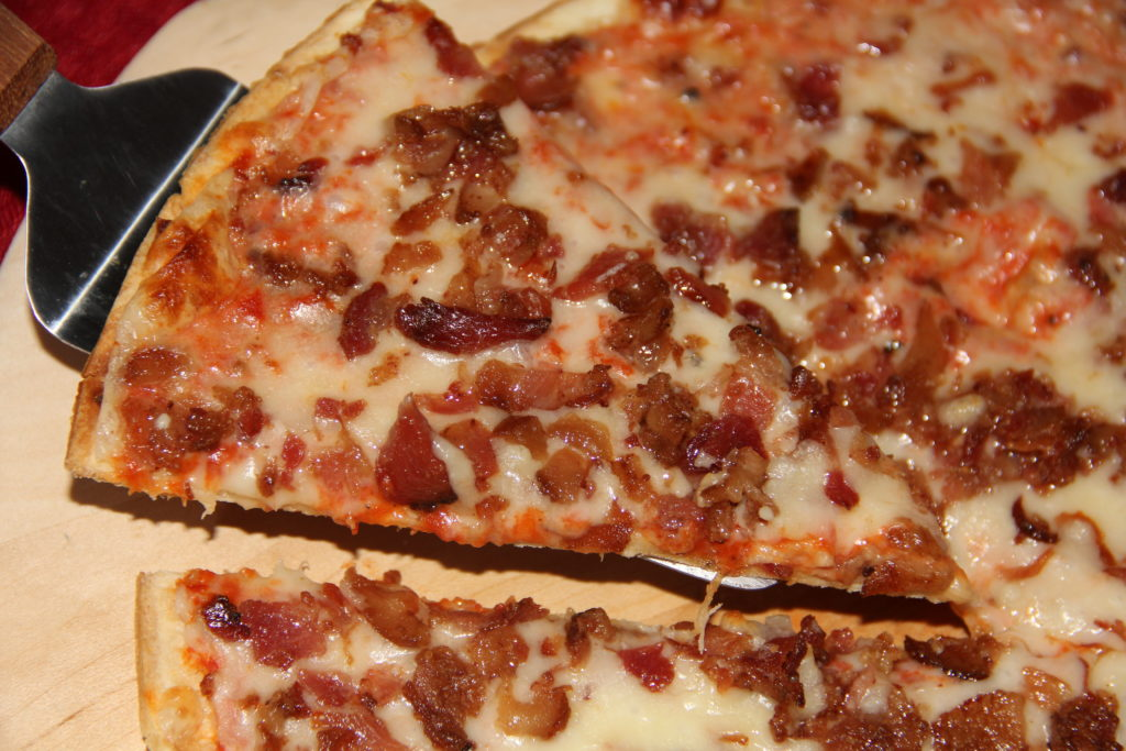 St. Louis Style Bacon Pizza